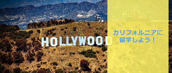 カリフォルニアに留学しよう!
