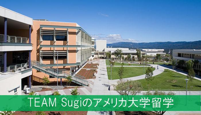 TEAM Sugiのアメリカ大学留学